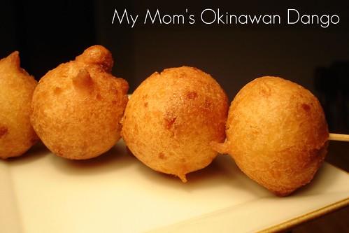 Okinawan Dango