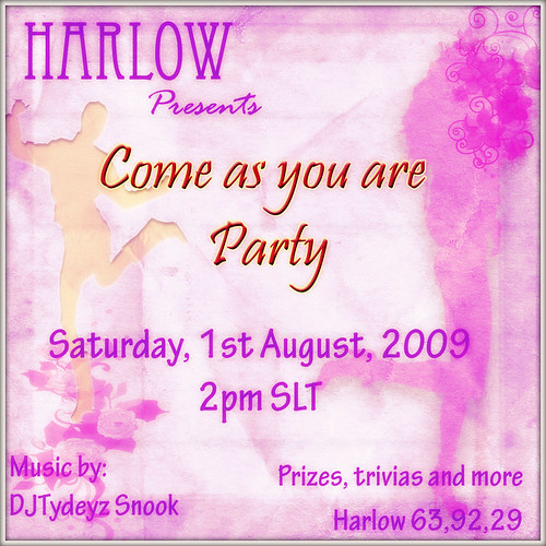 Come as you are party