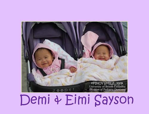 DEMI & EIMI SAYSON
