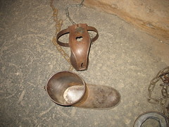 Chastity Belt & Iron Boot, The Clink Prison Mu...