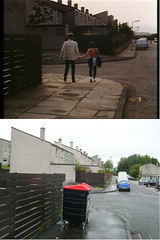 """""""You are worse than my dad...."""" (route9autos.co.uk) Tags: gregorys girl then now locations film scotland cumbernauld past present bill forsyth setjetting set jetting"""