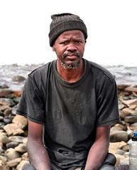 Old Man & the Sea (RuanNiemann) Tags: people delete10 portraits delete9 delete5 delete2 delete6 delete7 delete8 delete3 snap delete delete4 save save2 eastlondonsouthafrica ruanniemann