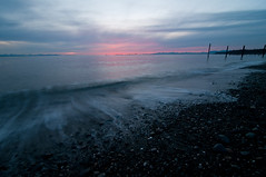 E2 - Point Roberts (RyanMacLean) Tags: county sunset washington waves emptiness pointroberts whatcom bivouac