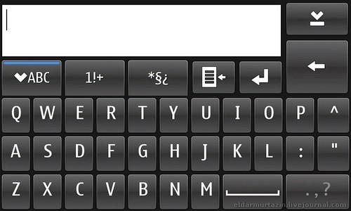 maemo key board