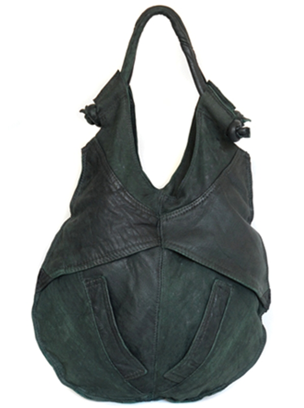 Ashley Watson recycled leather bag Brant 2