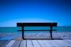 face à la mer (flo74.) Tags: blue sea mer bench 10 bleu explore 25 banc picardie somme baiedesomme aoi cayeuxsurmer 10faves explored 25faves top20blue bestoffr photophiles artofimages bestcapturesaoi