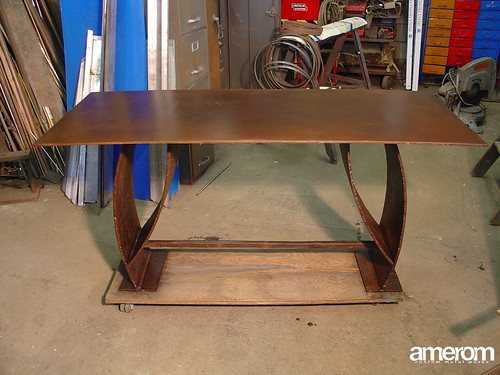 Steel Plate Table