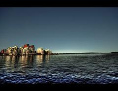 City in the Sea (Bs0u10e0) Tags: blue summer lake water june buildings nikon europe apartments sweden sigma flats sverige 1020mm 2009 hdr västerås västmanland sigma1020mm apartmentblocks lakemälaren photomatix tonemapped tonemapping d80 nikond80 västmanlandcounty västeråsmunicipality