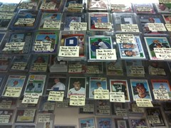 A baseball card shop in NYC?!?  Who knew! (Bwa...