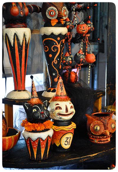 Halloween-vases