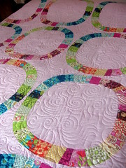Single Girl Quilt (QOB) Tags: modern quilt quilting quilted patchwork longarm machinequilted longarmmachine quiltsonbastings
