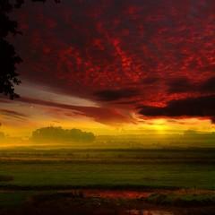 (digitalpsam) Tags: uk sunset clouds spectacular day cloudy surreal fields dreamy serene cromer saariysqualitypictures freedancephotographers obramaestra wonderworldgallery sammatta