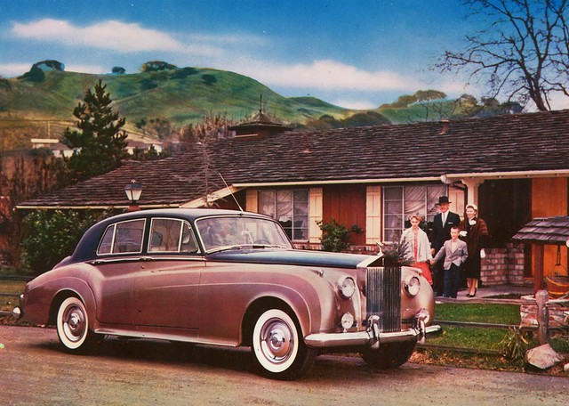 1958 Rolls-Royce Silver Cloud Sedan