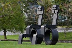 """""""The King and Queen"""" (TylerIngram) Tags: art vancouver artists coalharbour"""