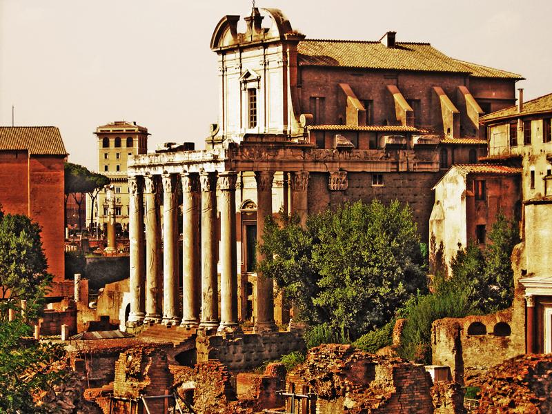 The Roman Forum — Roma, Italia