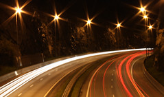 Highway (Chris-Hvard Berge) Tags: light cars norway norge highway freeway bergen vei shutterspeed sane motorvei flickrunitedaward