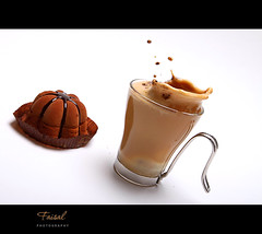Coffee... (Faisal | Photography) Tags: white speed high chocolate explore frontpage ef2470mmf28lusm canoneos50d coffeesplash faisal|photography