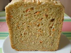 carrot bread - bread making machine