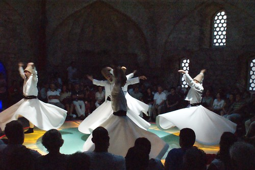 Dervishes - Sufis whirl in Istanbul by David Spender, on Flickr