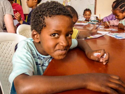Abi, Abraham, Rahel and Nesanet, Mercy Home, Ethiopia