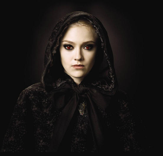 Dakota Fanning es Jane Volturi