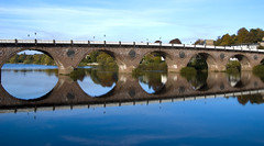 091017_Smeaton's   Bridge Perth (pashl) Tags: bridge reflection scotland highland d80 perh smeatonsbridge smeatonsbridgeperthscotland