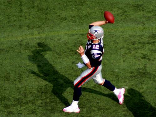 Brady throws