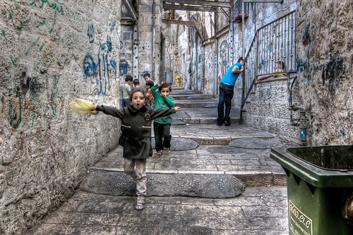 Kids in the Old City