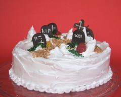It's Halloweeeeeen!!! (mokapest) Tags: november food halloween cemetery cake recipe dead death novembre rip torta cibo cimitero ricetta morti