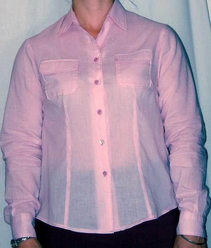 SEw U Shirt, pink batist