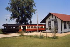 19710705 02 Illinois Railway Museum (davidwilson1949) Tags: museum illinois union transit depot streetcar csl illinoisrailwaymuseum