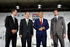 Opening Ceremony of Climate Week NYC