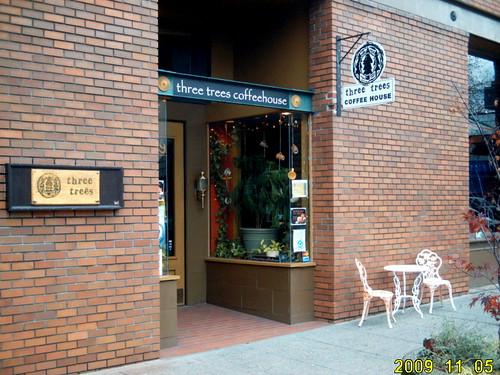 Three Trees Coffeehouse exterior