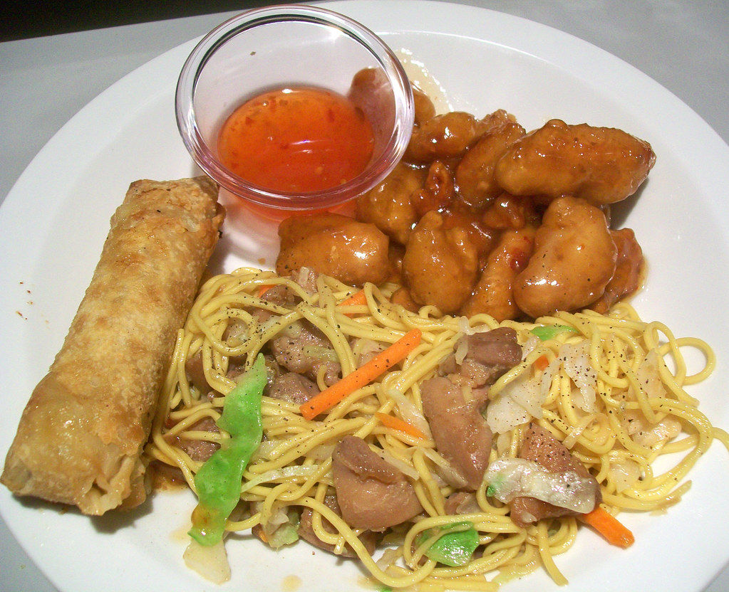 Chinese Food Dinner