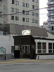 地鐵站的入口