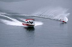 Slalom (wanahfong) Tags: water sport jump nikon air malaysia putrajaya nikkor 2009 slalom mwsf 80200 sukan d300 yoong 80200f28 iwsf hanifah wanahfong