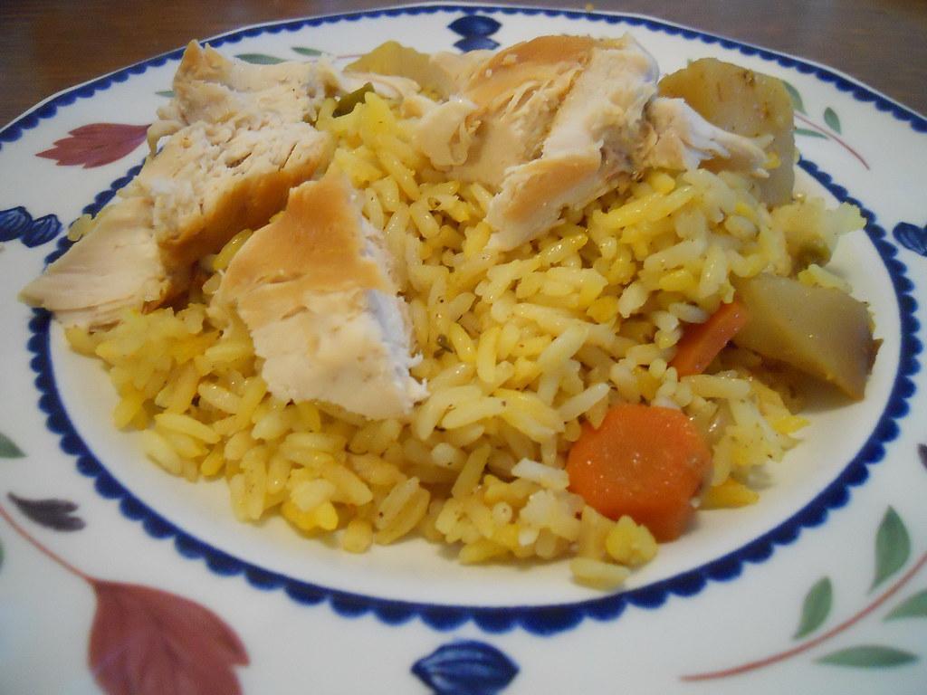 biryani rice by Ruby Grad!