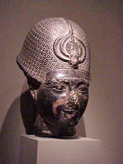The Head of a Statue of Amenhotep III ca 1380 ...