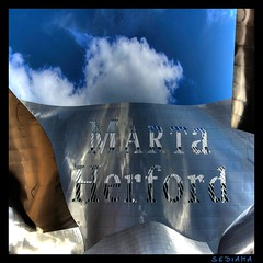 MARTa (sediama (break)) Tags: blue sky silver germany pentax explore marta herford frankgehry hdr 20012005 k20d sediama bornintoronto igp3839and2more bysediamaallrightsreserved