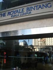 DSC02143 The Royale Bintang Hotel , Kuala Lumpur