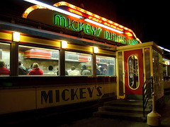 Late Saturday Night at Mickey's Diner