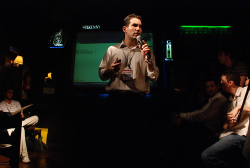 Sebastian Ortega (el que dirigia el elevator speech)