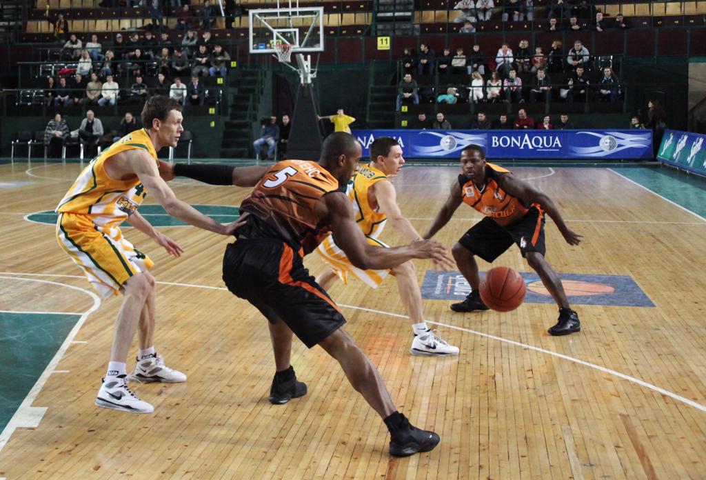 Баскетбол Донецк-Киев