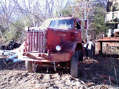 Diesel Autocar Tractor Trailer (sixty8panther) Tags: tractor classic truck diesel diamond american trailer silvester diamondt bigred reo autocar marmon sixty8panther humaj