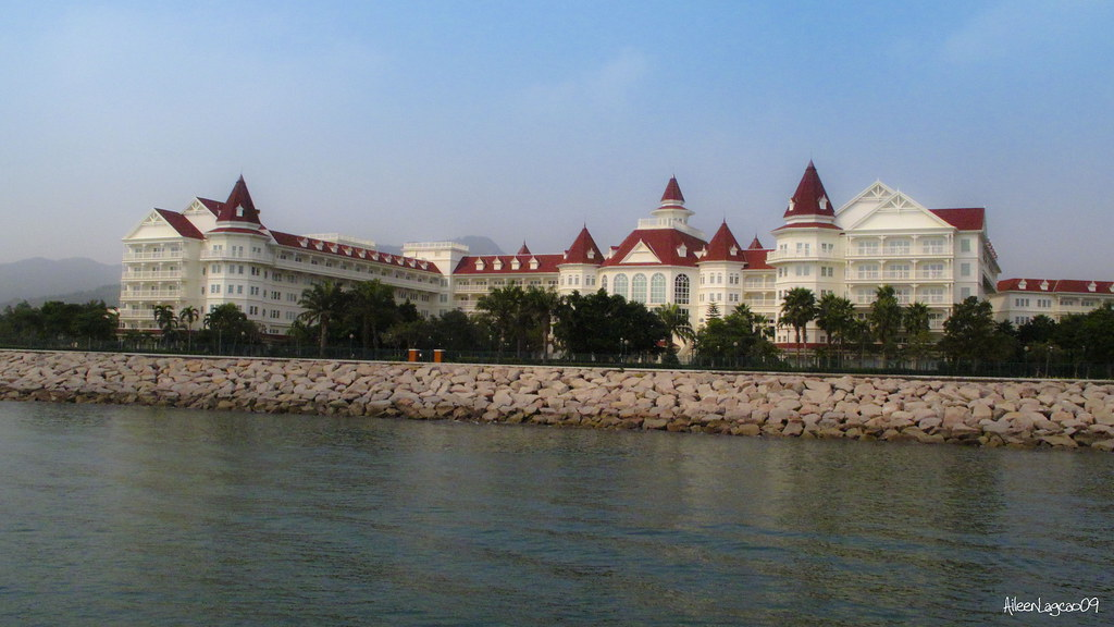 Disneyland Hotel in its entirety.