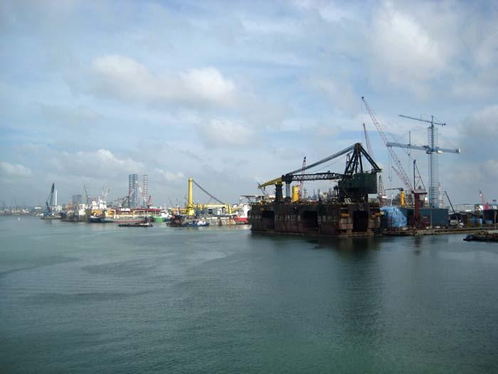 Singapore Shipyard 2