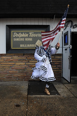 wench with american flag outside dolphin_9839_1 web