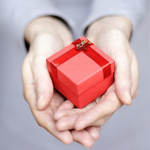 Gift :D by mmlolek, on Flickr