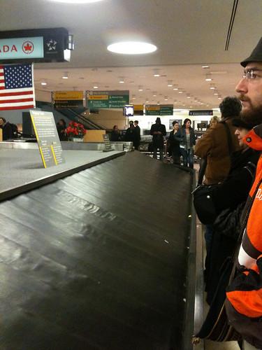 Baggage Claim at EWR