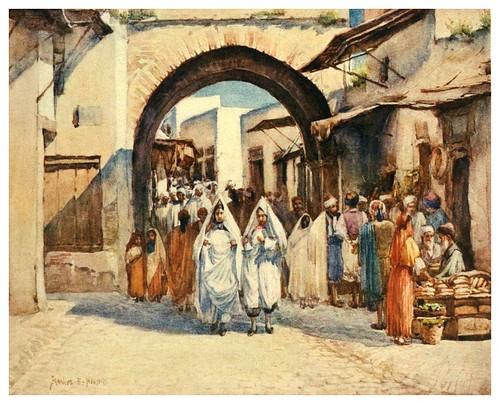 023-Zoco el Hout en Túnez-Algeria and Tunis (1906)-Frances E. Nesbitt